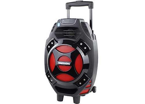1470k - Loa bluetooth karaoke kẹo kéo Temeisheng Q7S-16 2 mic giá sỉ và lẻ rẻ nhất