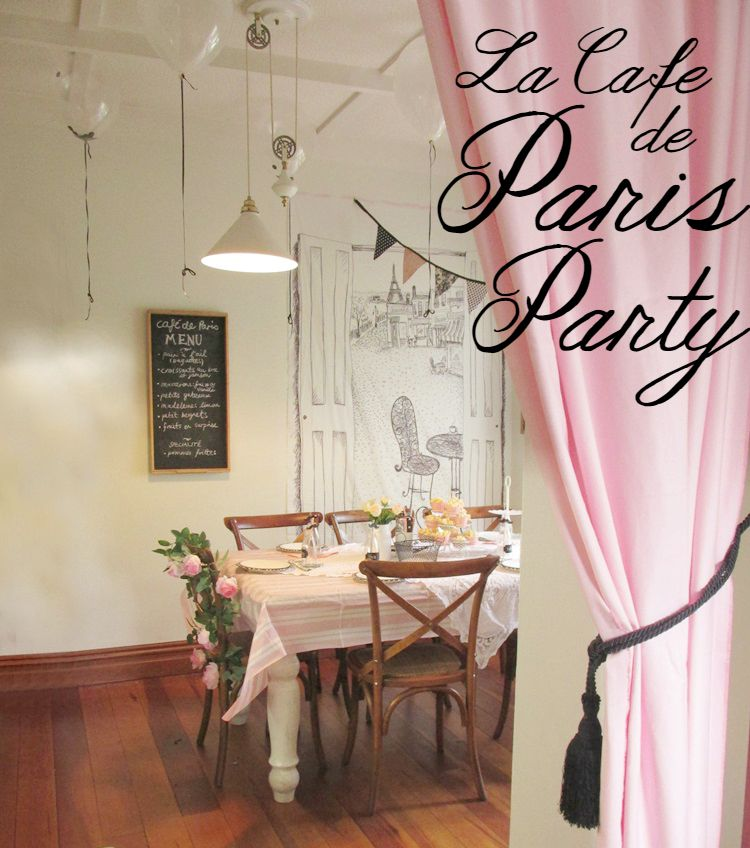 La cafe de paris Party
