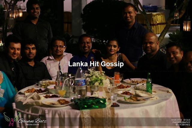 Ishara sandamini wedding anniversary night party gossip