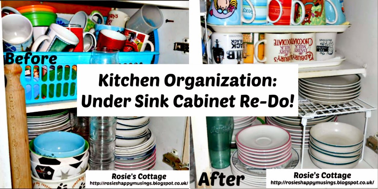 Kitchen Sink Organization Pinterest