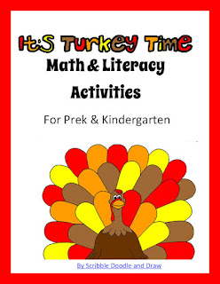 Thanksgiving printable worksheets for preschool and kindergarten