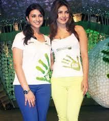 Priyanka Chopra dan Parineeti Chopra