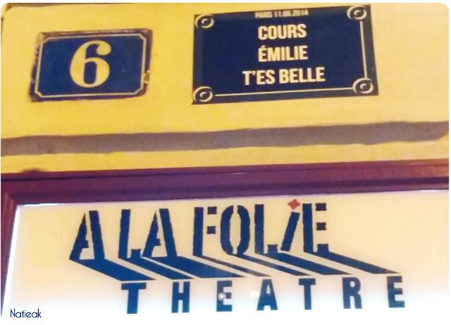 théâtre A la folie théâtre Paris