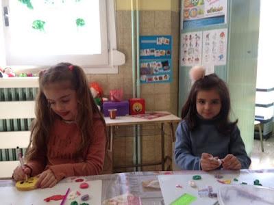 Taller de galletas colegio María Auxiliadora