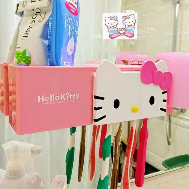 Tempat Sikat Gigi dan Odol Hello Kitty  0af23969ae