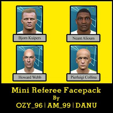 Mini Referee Facepack