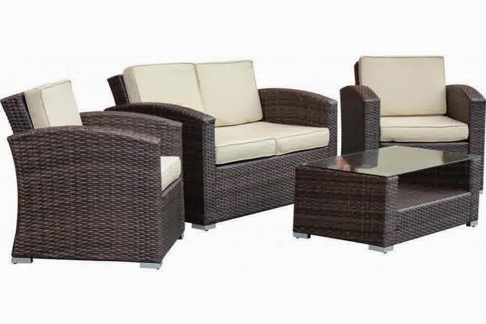 Outdoor Furniture Sofa 4pcs Luxury Patio Set