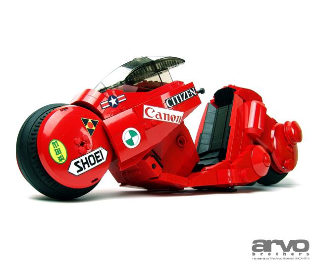 Arvo Brothers Lego - Akira Kaneda Bike