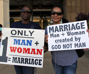 Gay marriage right or wrong