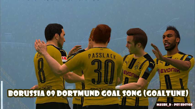 Dortmund Goal Song PES 2017