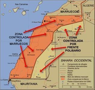 Resultado de imagen de sahara occidental