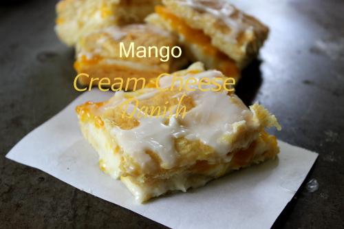 Eclectic Red Barn: Mango Cream Cheese Danish