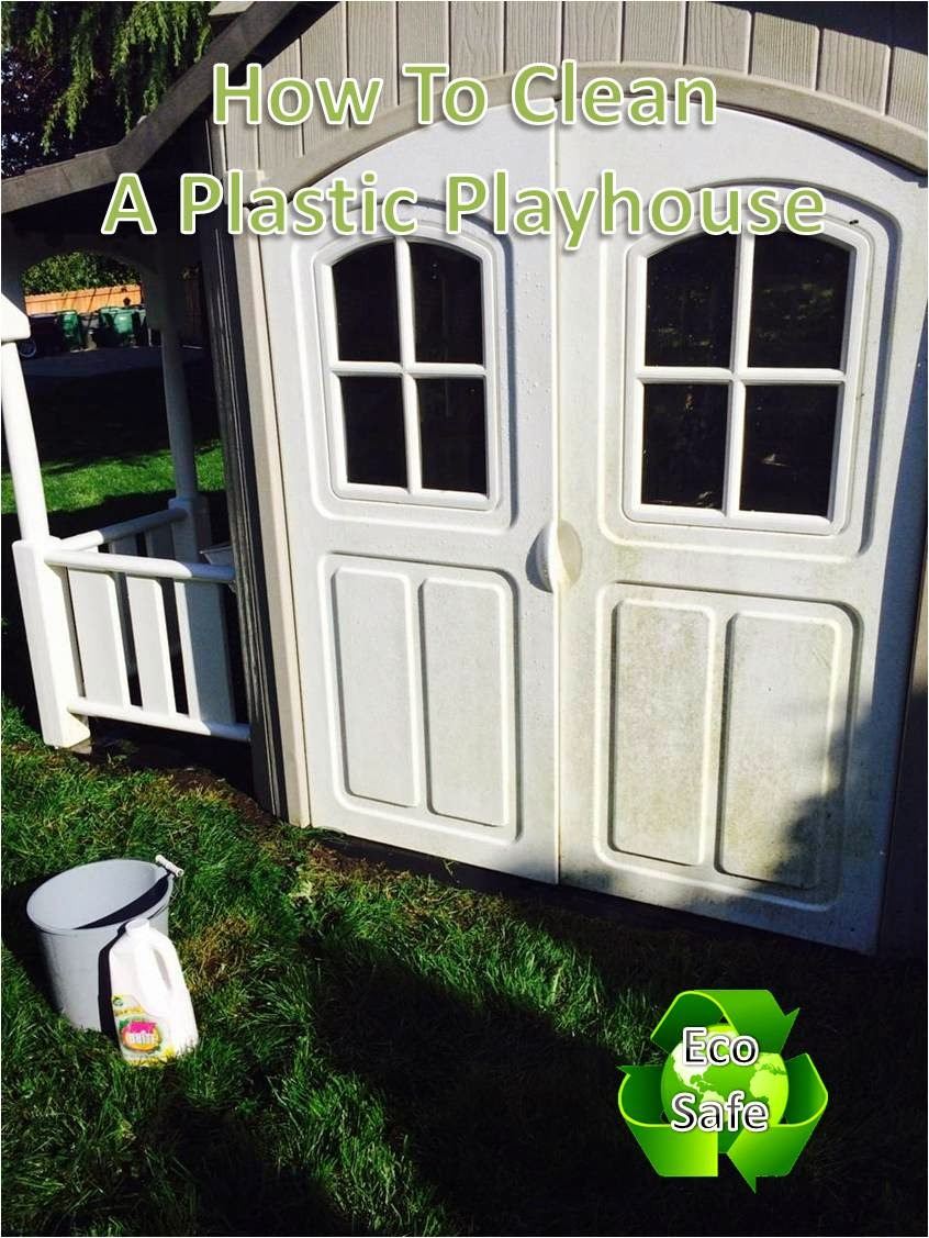 quick n brite quick cleaning tips how to clean a kids playhouse non toxic safe cleaners. Black Bedroom Furniture Sets. Home Design Ideas