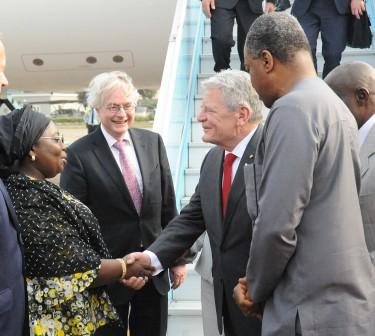 Photos: German President Visits Ambode In Lagos