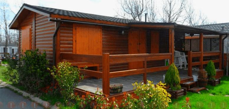 Model Rumah  Kayu Modern Minimalis Kecil Yang Sederhana