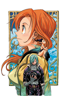 Marry Grave tome 1 - illustration couleur 02 - Rosalie et Sawyer
