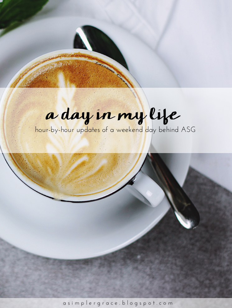 Hour-by-hour updates of a weekend day behind ASG - A Day in the Life | Fall 2016 | Blog-tember Day 10 #blogtemberchallenge