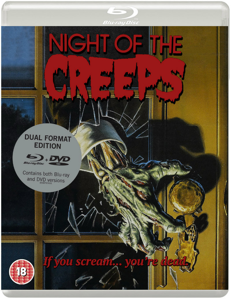 NIGHT OF THE CREEPS eureka blu-ray