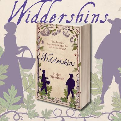 Cover Reveal: Widdershins by Helen Steadman