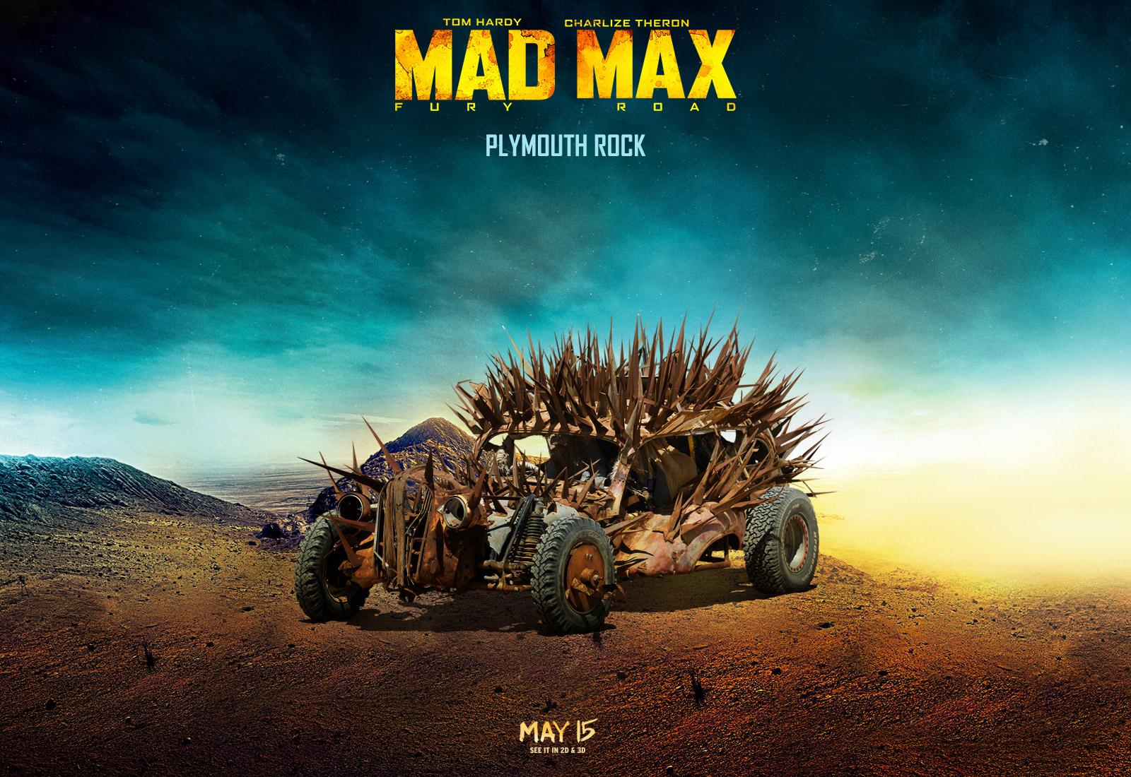 mad max fury road plymouth rock