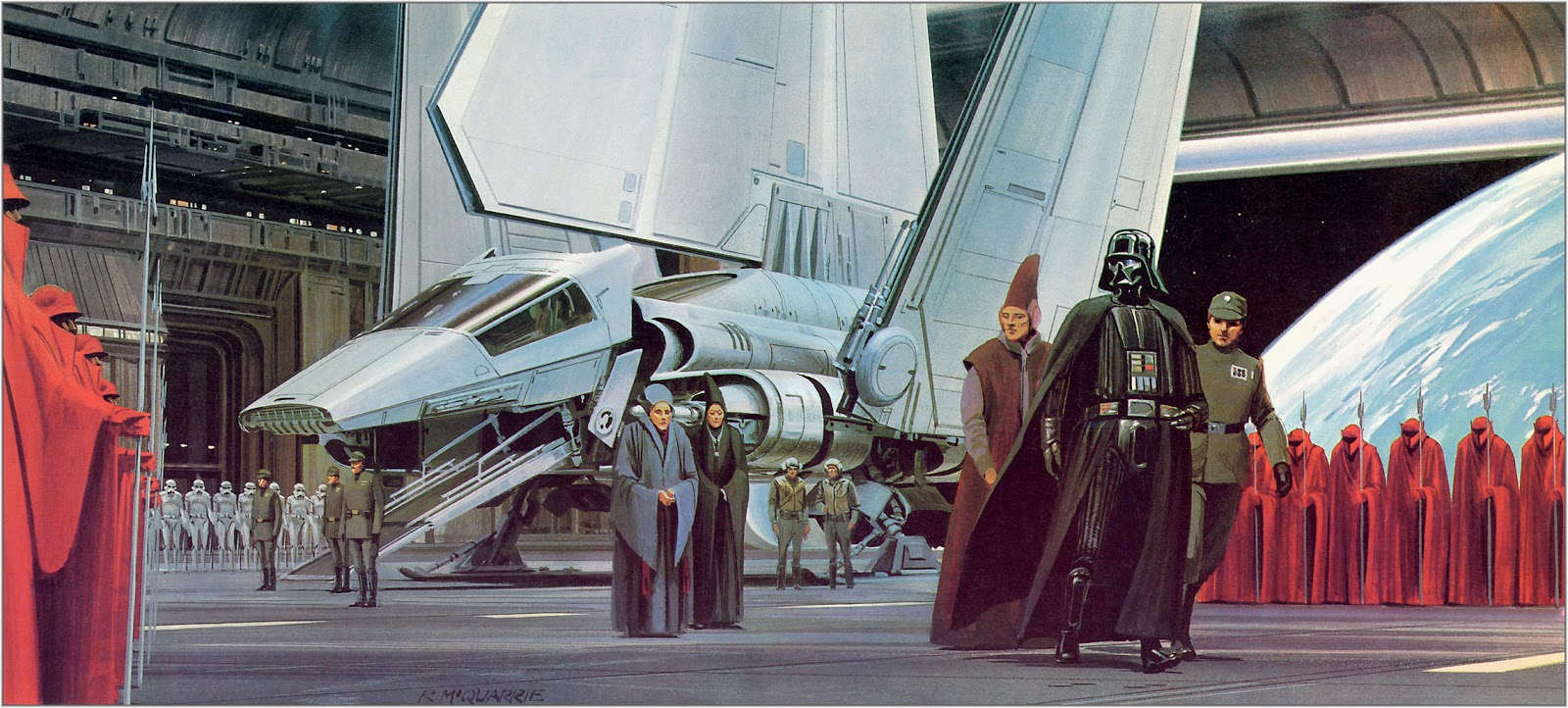 Ralph McQuarrie Star Wars Concept