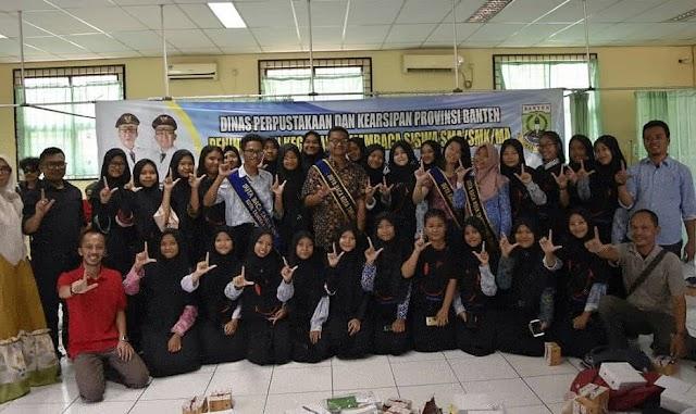 Dinas Perpustakaan Ajak Siswa Kota Tangerang Budayakan Baca