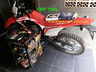 Cara pasang alarm motor Honda CRF 150L