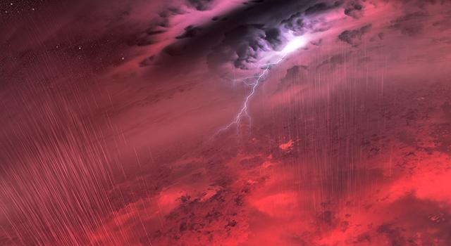 tempestade em anã marrom