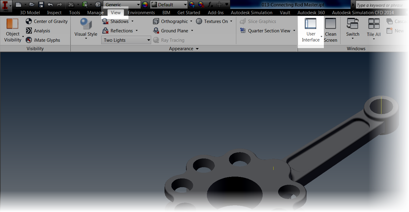 Help! I've Lost My Autodesk Inventor Feature Browser
