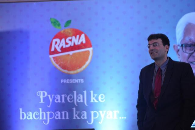 Mr. Piruz Khambatta, Chairman & MD Rasna unveiling the new ad campaign