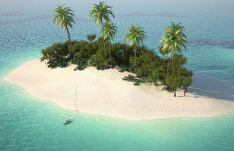10 must-have items when trapped on a deserted island