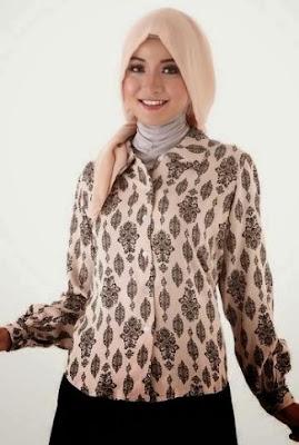 model baju batik atasan 2018