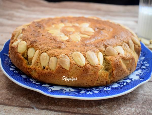 Torta de Almendra. Vídeo Receta