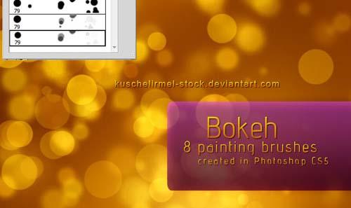 Бесплатные кисти боке для Фотошопа