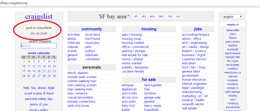 how to post ads on craigslist in multiple cities