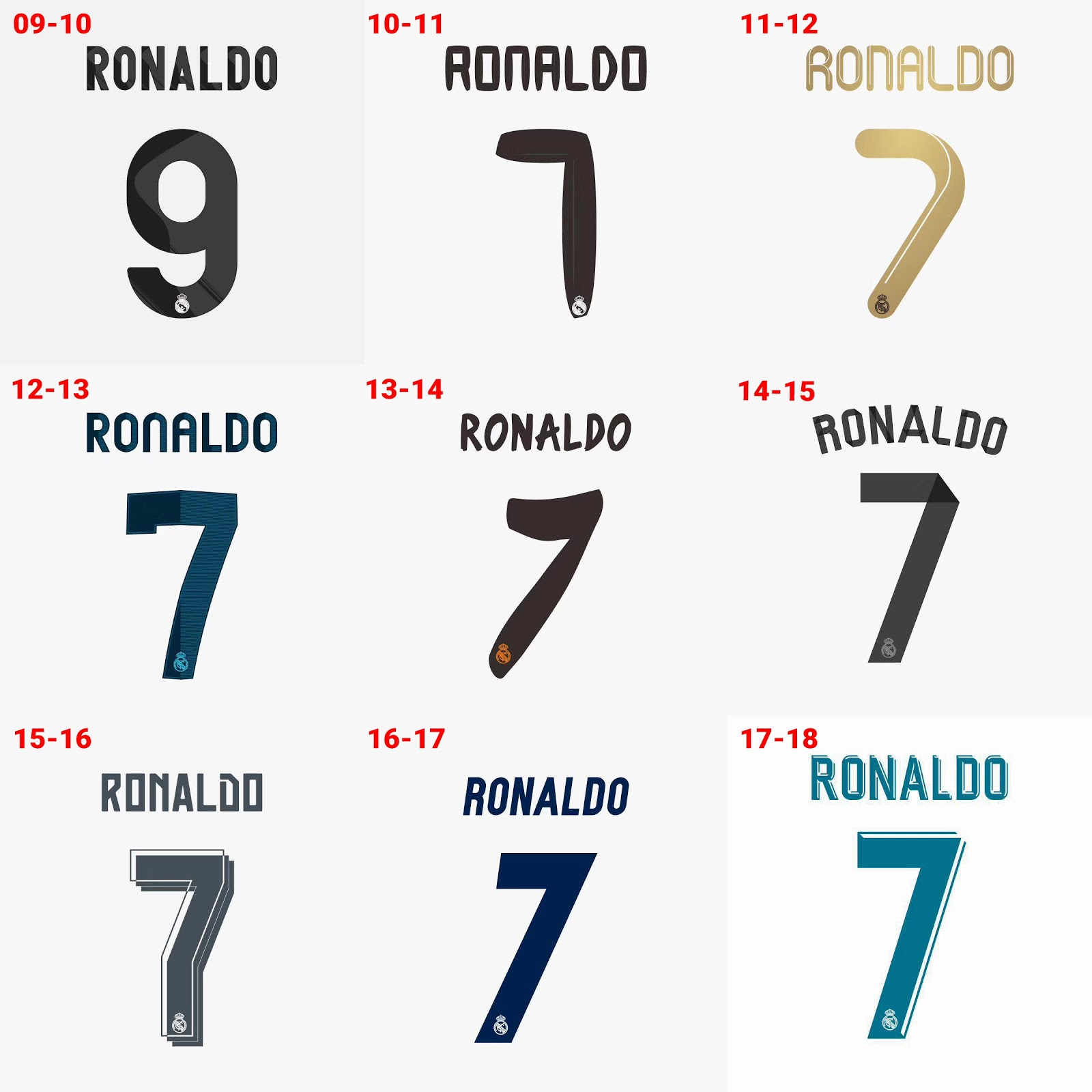 Free worldwide delivery on all orders. What s your favorite Real Madrid  home kit of the Cristiano Ronaldo era  1f6431830