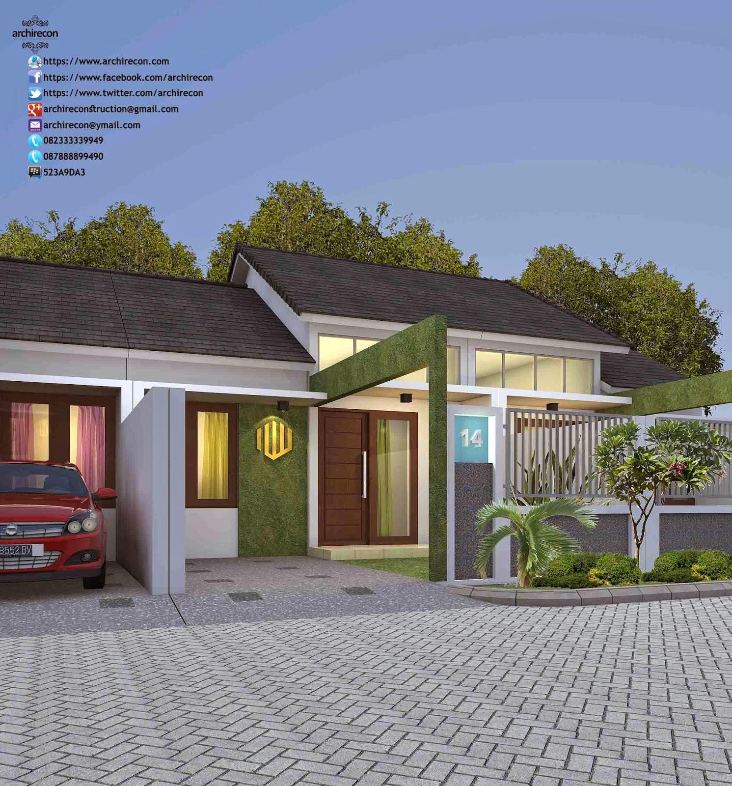 Desain Rumah Minimalis Perumahan Samara Residence - Type 36
