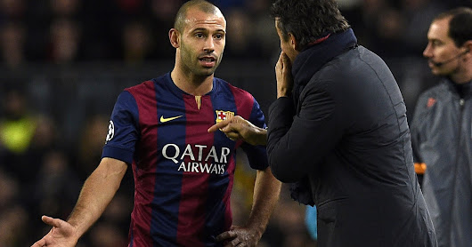 why Barcelona didn't let Mascherano follow Alves to Juventus-A captain without an armband