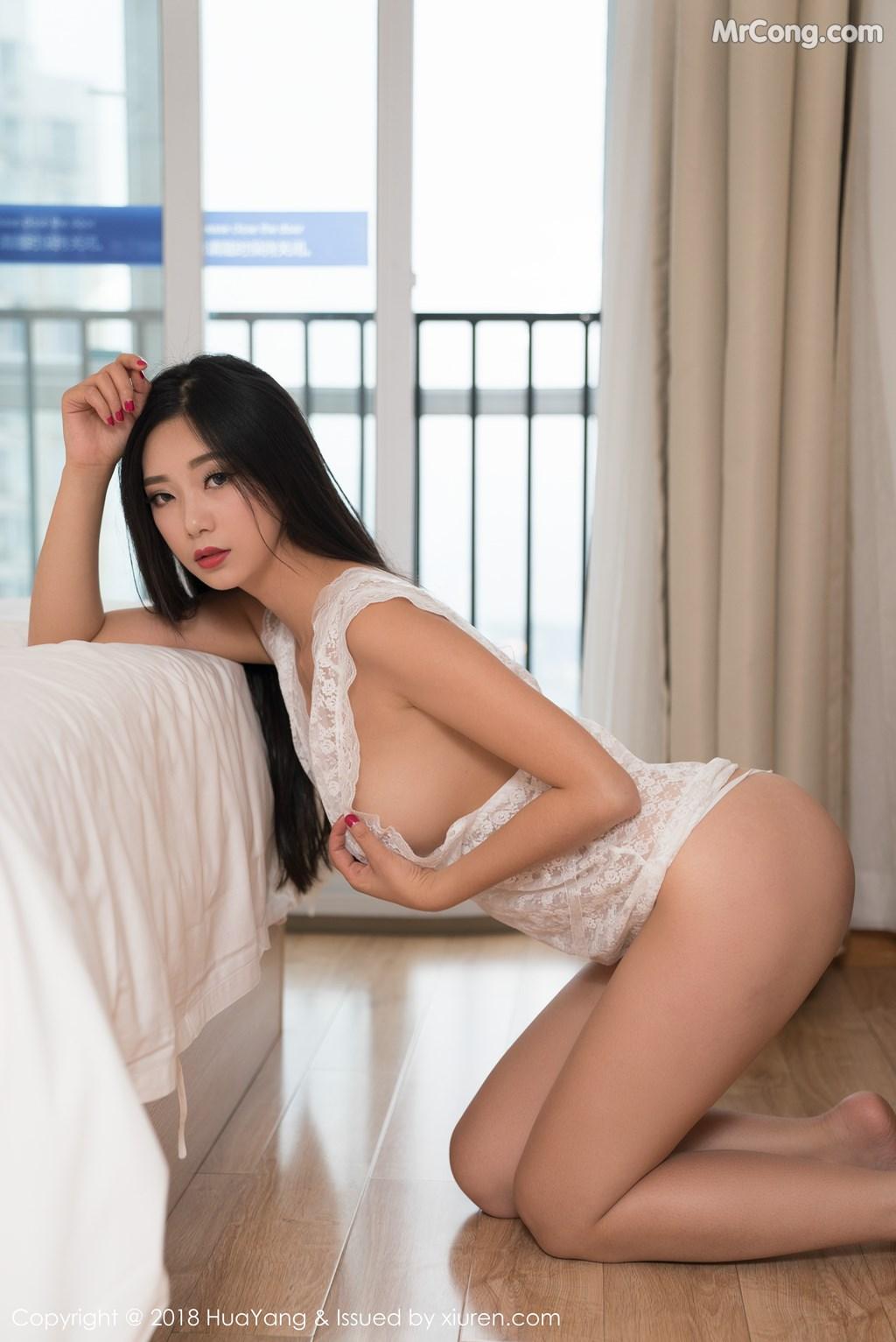 Image HuaYang-2018-02-28-Vol.033-KiKi-MrCong.com-025 in post HuaYang 2018-02-28 Vol.033: Người mẫu 宋-KiKi (42 ảnh)