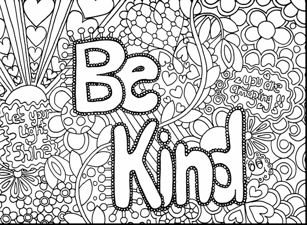 Wonderful Hard Coloring Pages For Teenagers With Hard Coloring Pages For  Adults And Hard Coloring Pages