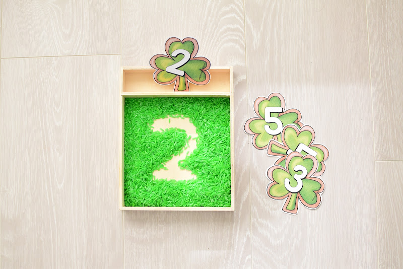 St. Patrick's Day GUIDE FOR WRITING LETTERS AND NUMBERS