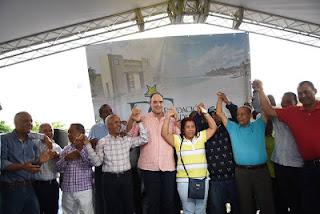 José del Castillo realiza gran encuentro de dirigentes en Barahona