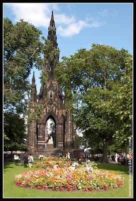 Monumento Walter Scott Edimburgo (Escocia)