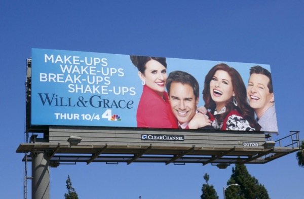 Will & Grace season 10 billboard