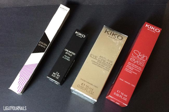 Haul shopping Kiko