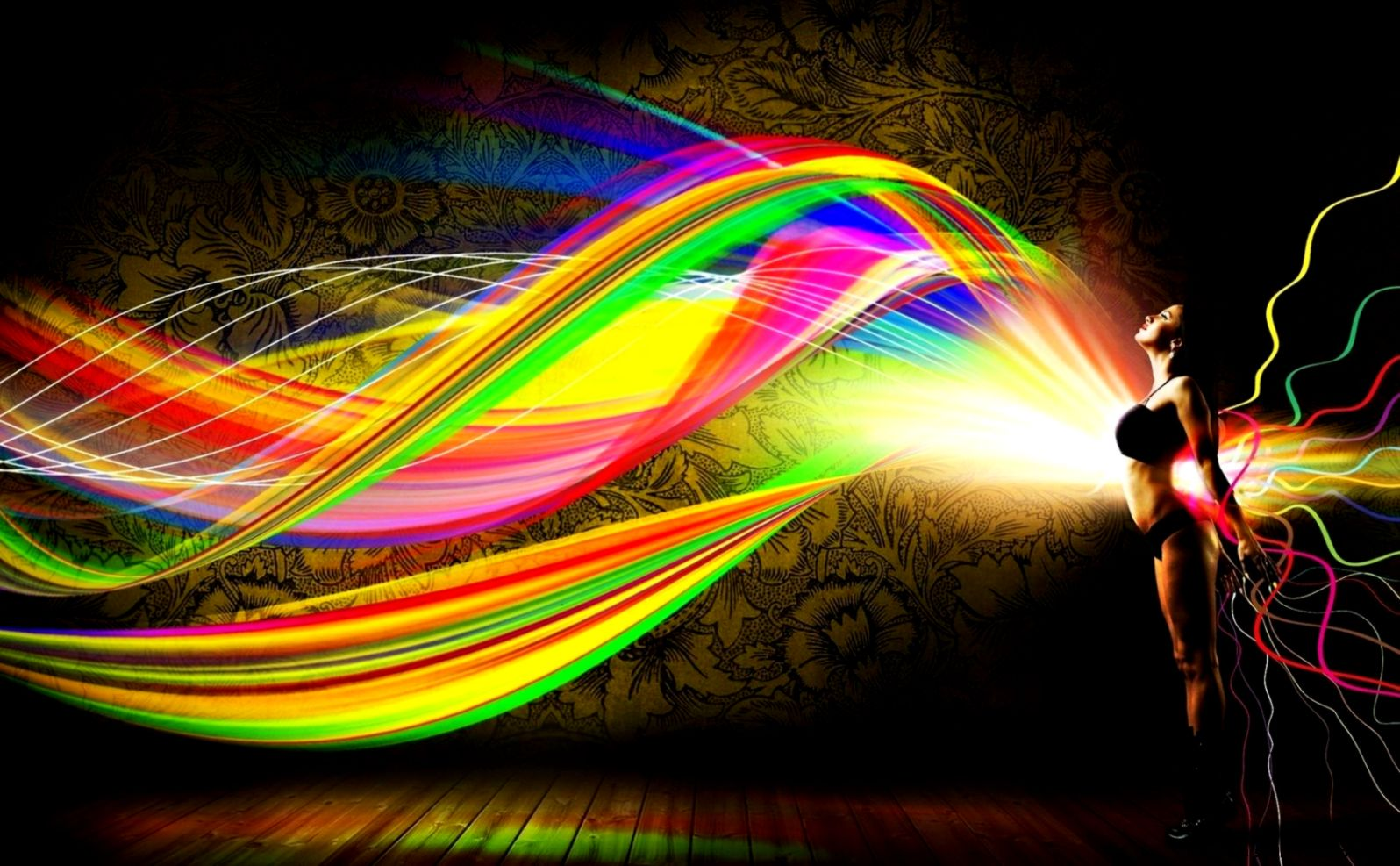 Hd Wallpaper Abstract Bright | Wallpapers Gallery
