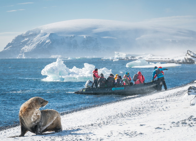 A holiday in Antartica