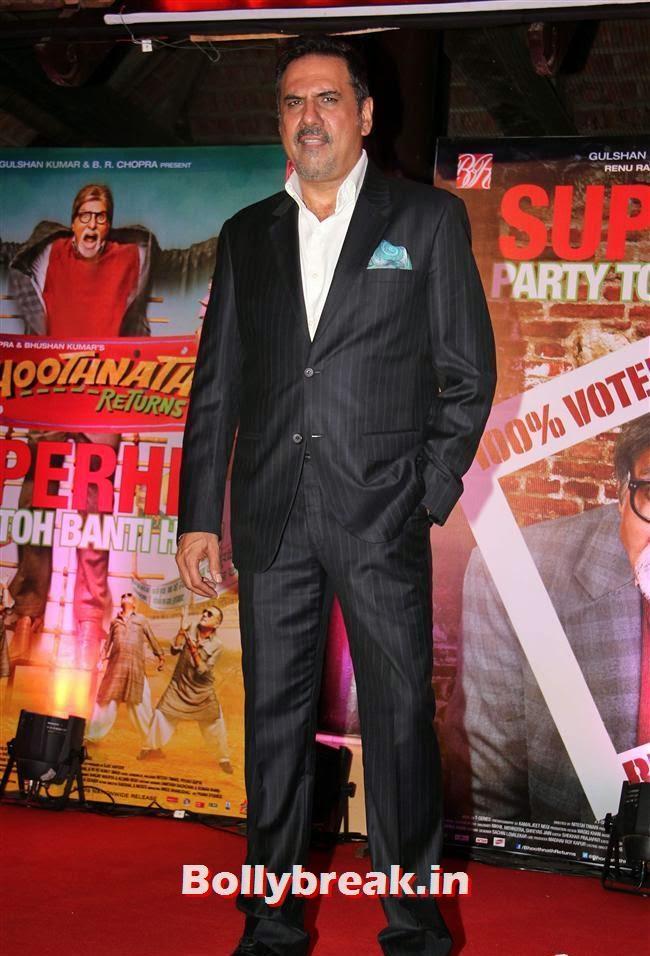 Boman Irani, Usha Jadhav at Bhoothnath Returns Success Party