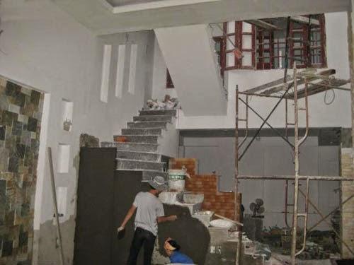 tìm thợ nề xây trát tại nhà, thợ nề nhận làm tại nhà