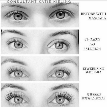 321606b012c One tube of Lash Boost lasts 3-4 months. Like all our products, it comes  with a 60 day, empty bottle 100% money back guarantee.